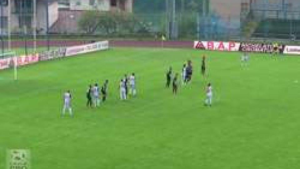 Lumezzane, occasione persa: 1-1 con l'AlbinoLeffeLumezzane, occasione persa: 1-1 con l'AlbinoLeffe