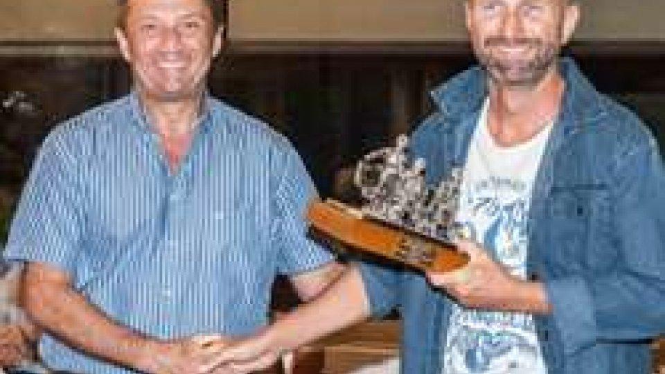 Marco Tura e Massimiliano SpadaCalcio Estate: ultima serata dedicata ai premi del Futsal