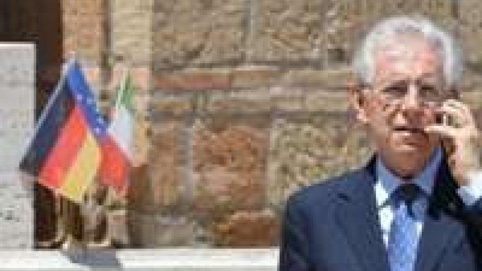A Roma vertice tra Monti, Hollande, Merkel e Rajoy