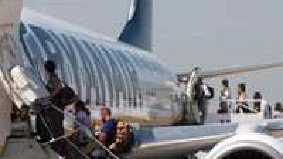 Nessun limite a voli e passeggeri per l'aeroporto di Rimini
