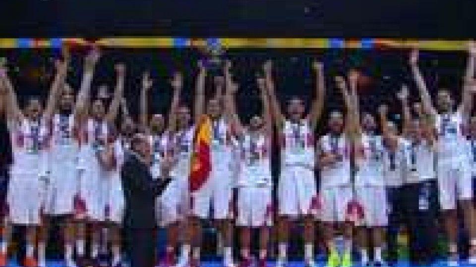 Basket: Europeo alla Spagna, Lituania battuta in scioltezza. Bronzo alla FranciaBasket: Europeo alla Spagna, Lituania battuta in scioltezza. Bronzo alla Francia