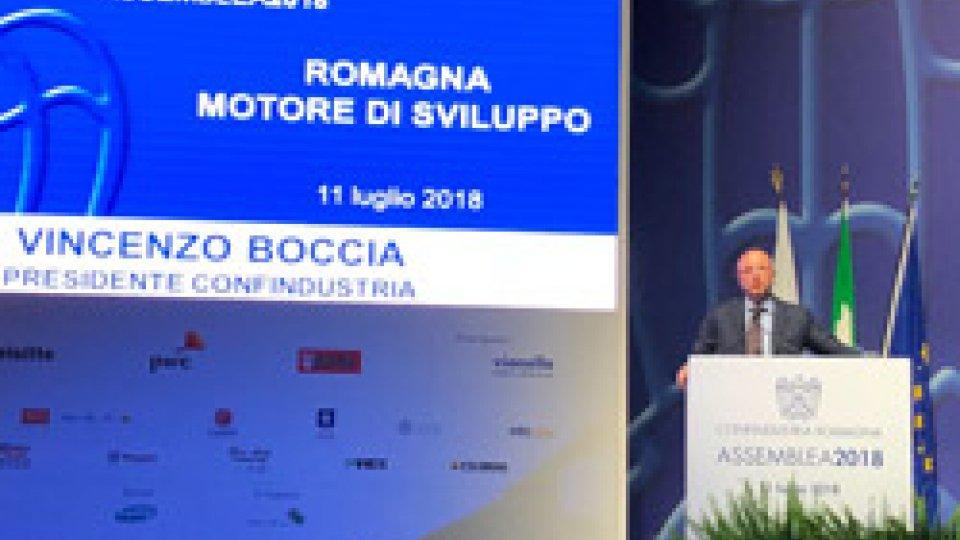 Vincenzo BocciaIl Presidente Confindustria Boccia a San Patrignano: Romagna, modello del Paese e motore di sviluppo