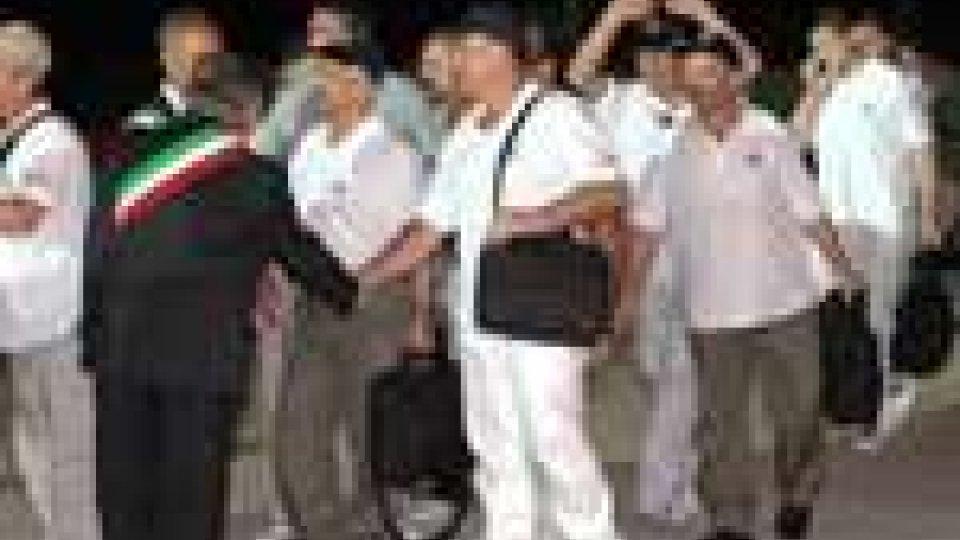 Sbarcati a Ciampino i marinai del Buccaneer