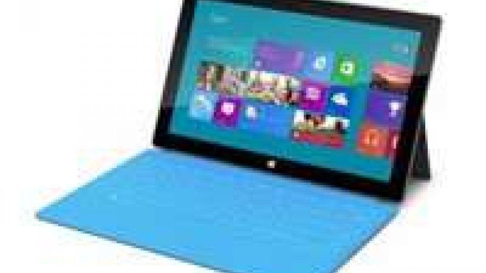 Partita la sfida all'iPad: la Microsoft lancia Surface
