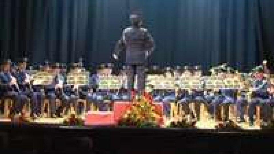 Anniversario del bombardamento: Banda Militare in concerto in onore delle Milizie