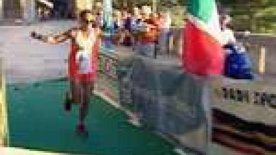 22esima maratona Rimini-San Marino a Marco Serasini e Rita Gabellini