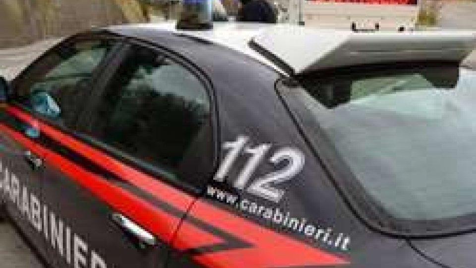 i Carabinieri arrestano un ladro