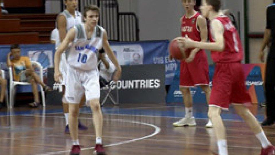 Niente terzo posto per i sammarinesiEurobasket under 16: niente da fare per San Marino, l'Austria vince 65-43 ed è bronzo
