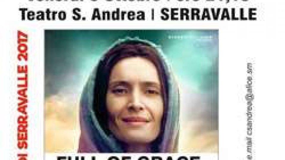MARIA, PIENA DI GRAZIAIl film americano su MARIA, PIENA DI GRAZIA in prima visione alla festa di Serravalle
