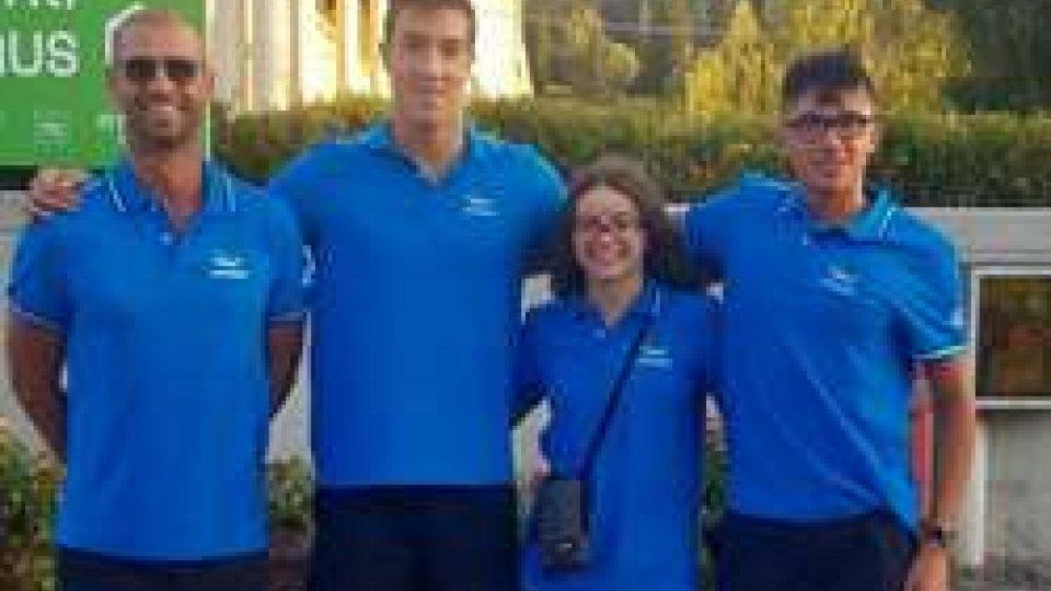 EYOF 2017: atleti della Gens Aquatica San Marino Nuoto rientrano arricchiti dal confronto umano e sportivo