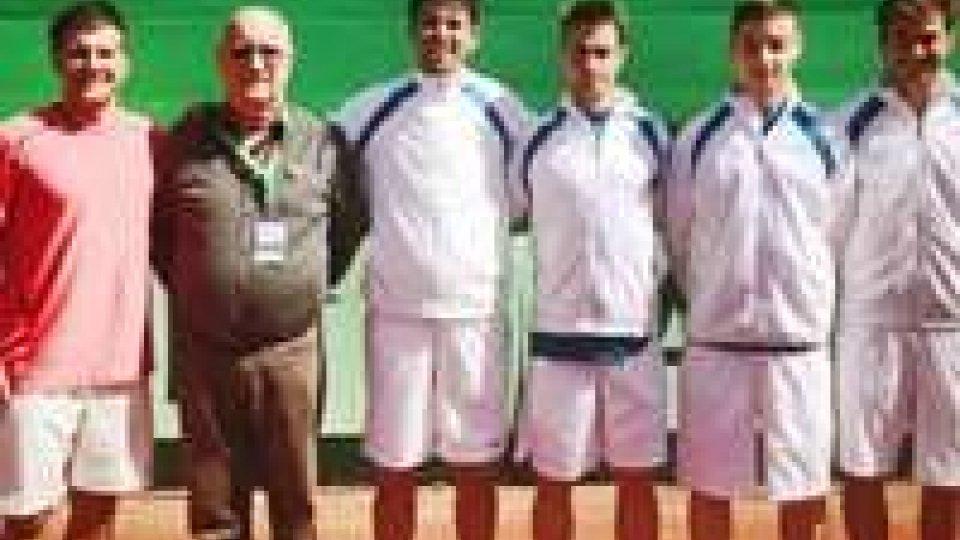 San Marino chiude al nono posto il Gruppo III della Coppa Davis