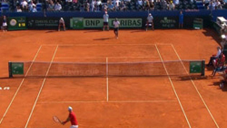 Coppa Davis: Croazia in finale col brivido