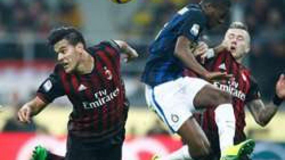 il derby finisce in pareggioSerie A: Milan - Inter, il derby finisce in pareggio