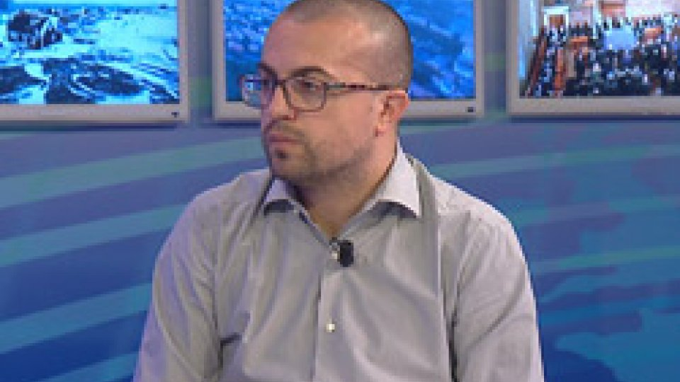 Il segretario Simone CelliFuturo del sistema bancario: il segretario Celli al Tg San Marino