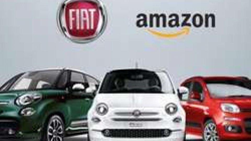 FCA accordo con Amazon