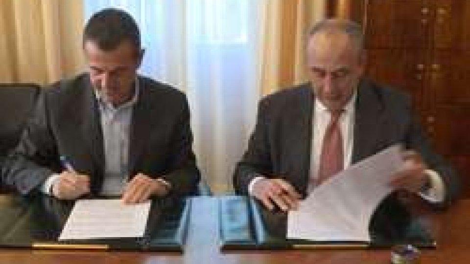 Siglato l'accordo tra Golf Club San Marino e Carisp