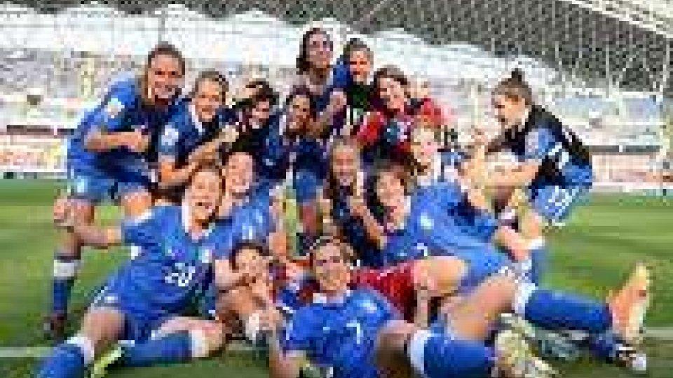 Italia U17 terza ai mondiali femminiliItalia U17 terza ai mondiali femminili