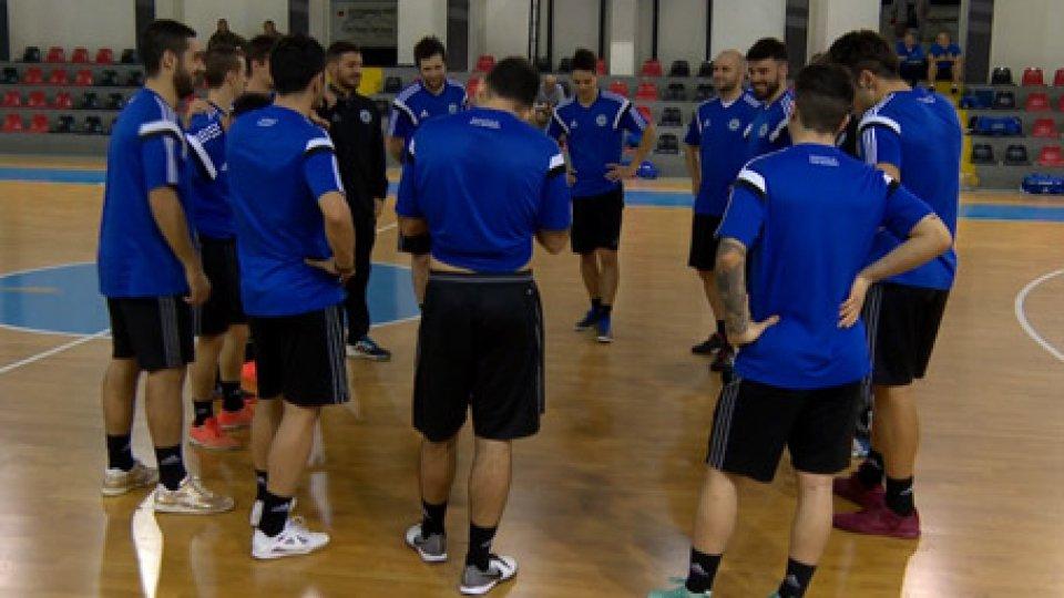 Futsal, San Marino si prepara alla GreciaFutsal, San Marino si prepara alla Grecia: Casadei in gruppo