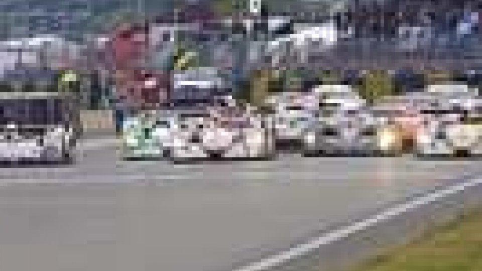 Enrico Muscioni al via a Le Mans