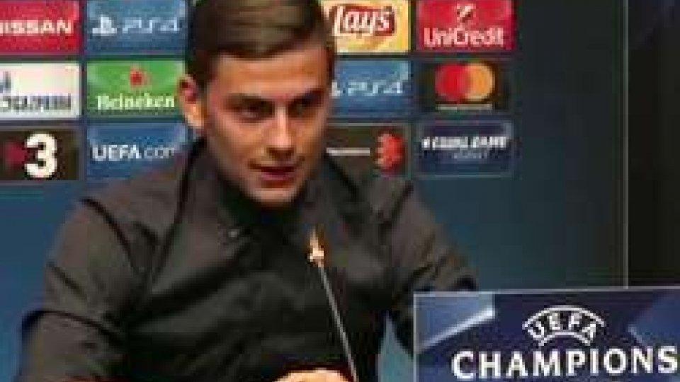 Paulo DybalaChampions League: questa sera il via ai gironi: subito Barcellona – Juventus e Roma – Atletico Madrid