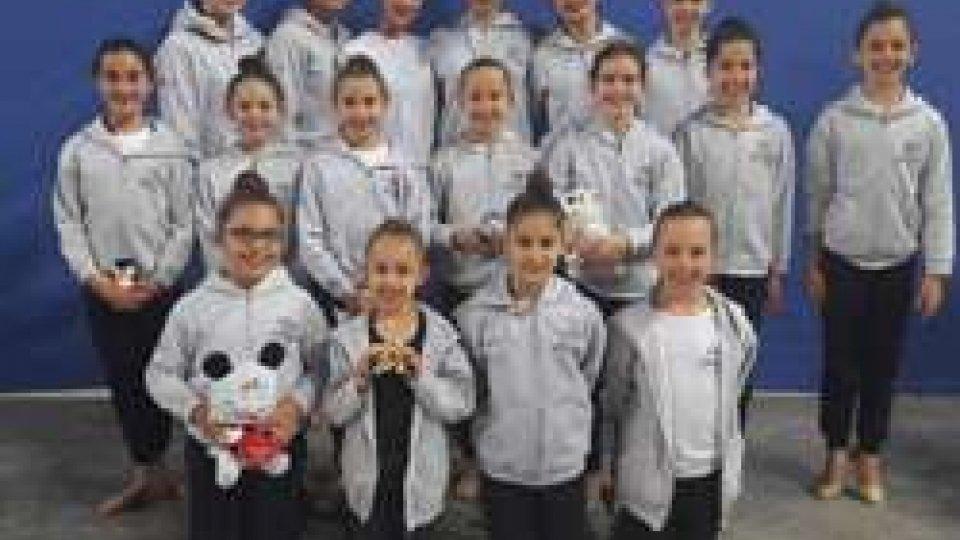 Incetta di titoli per la Società Sportiva Ginnastica San Marino al campionato nazionale Libertas