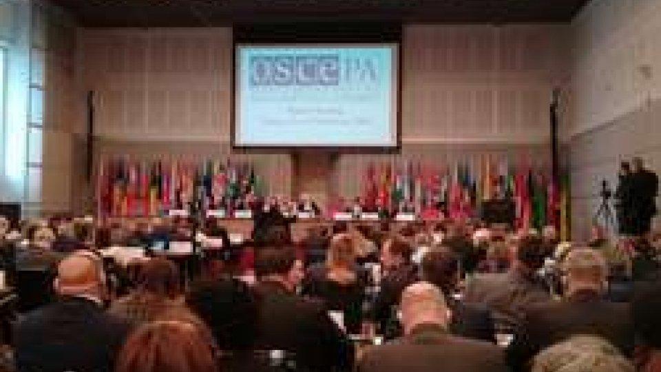Tensioni geopolitiche al centro dell'Assemblea Parlamentare OSCE, la nota della delegazione sammarinese