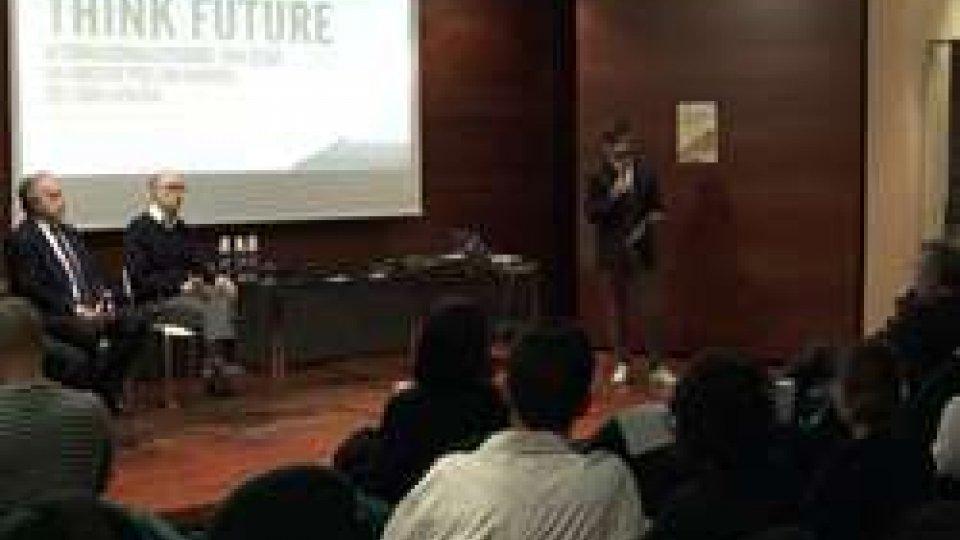 """L'incontro """"Think Future""""""""Think Future"""": a Domagnano si è parlato di giovani e internazionalizzazione"""