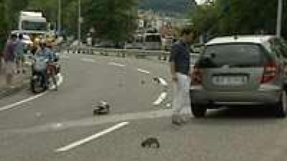 San Marino: contromano sulla superstrada investe motociclista