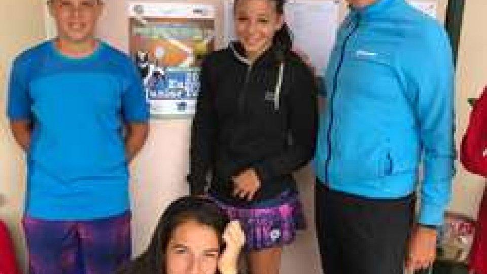 Andrea Maria Artimedi è nei quarti nel torneo under 16 Tennis Europe di Mestre, finale in doppio con Erika Di Muzio