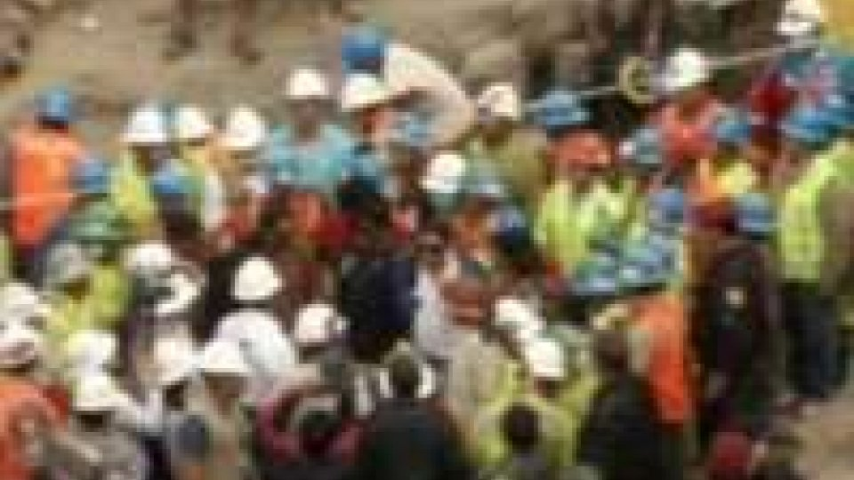 Perù, salvati i 9 minatori intrappolati per giorni sottoterra