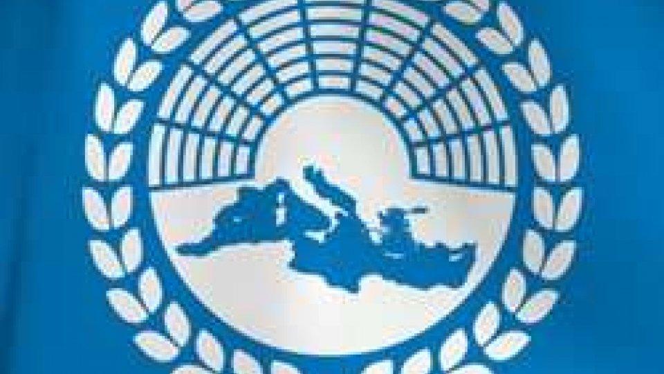 La Delegazione Consiliare sammarinese presso l'Assemblea Parlamentare del Mediterraneo verso Budapest