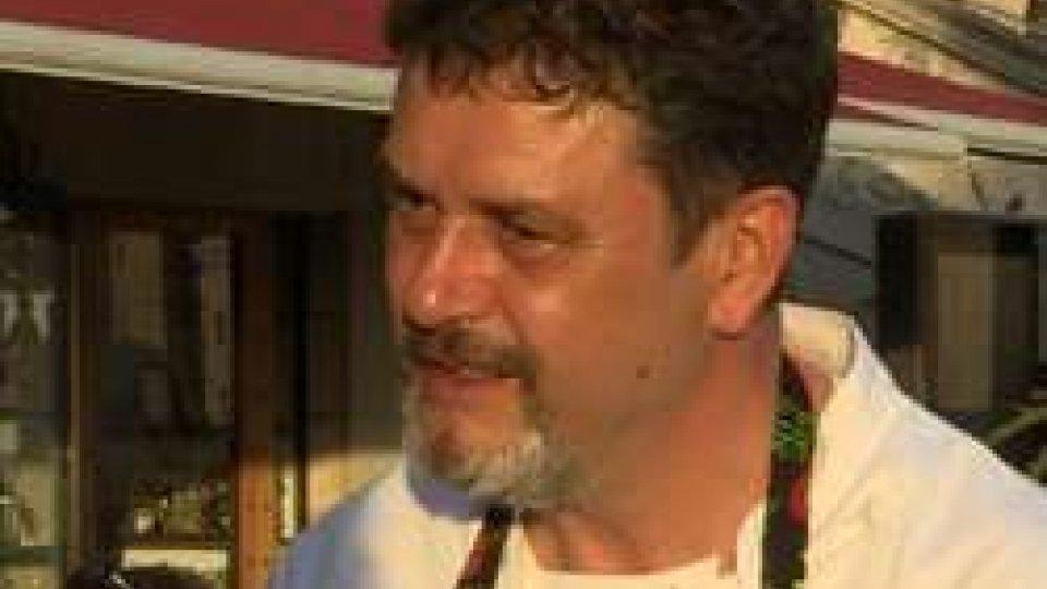"""Luigi SartiniIl """"Pianello"""" si trasforma nella piazza della cucina stellata"""