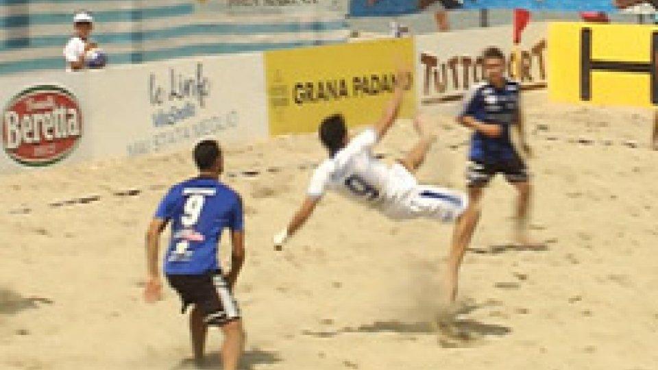 Beach SoccerBeach Soccer: a Bellaria Igea Marina l'unica tappa romagnola della Serie AON