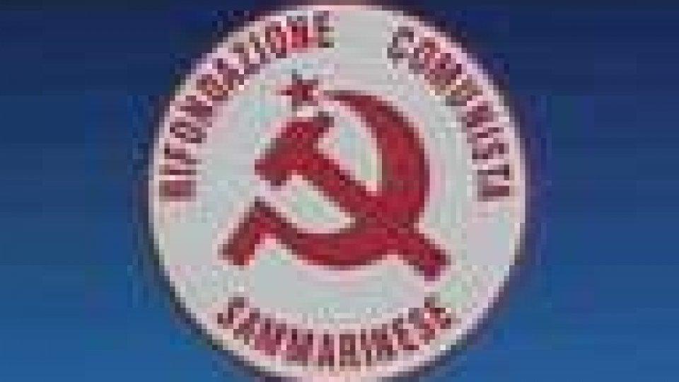 Rifondazione Comunista: 'PSD è alternativa al PDCS'