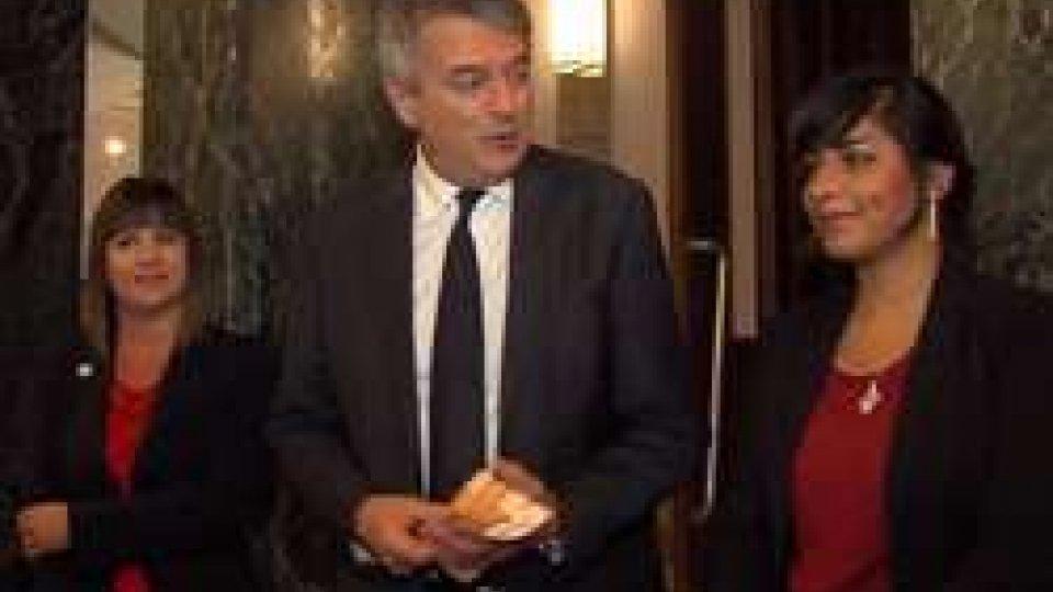 Fanny Gasperoni, Giuseppe Morganti e Nidaa Budwan