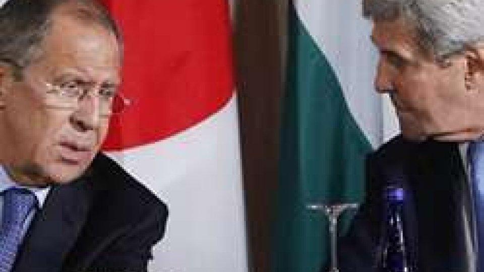 Lavrov e  Kerry