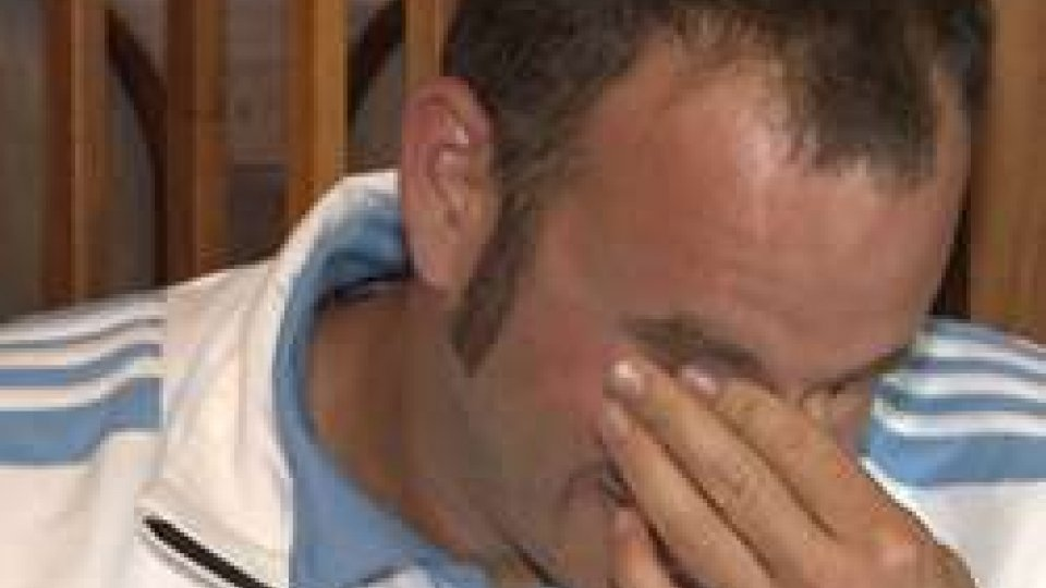 la commozione di Gian Marco BertiAtleti e Dirigenti ricevuti in udienza dai Capi di Stato:  lacrime di commozione per Berti portabandiera biancoazzurro