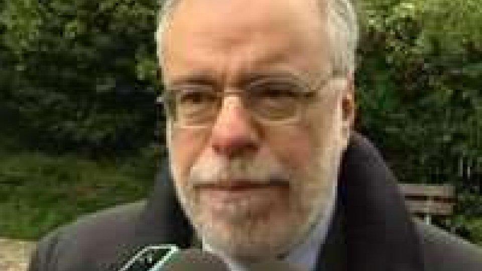 Il Ministro per la cooperazione Andrea Riccardi a San Patrignano