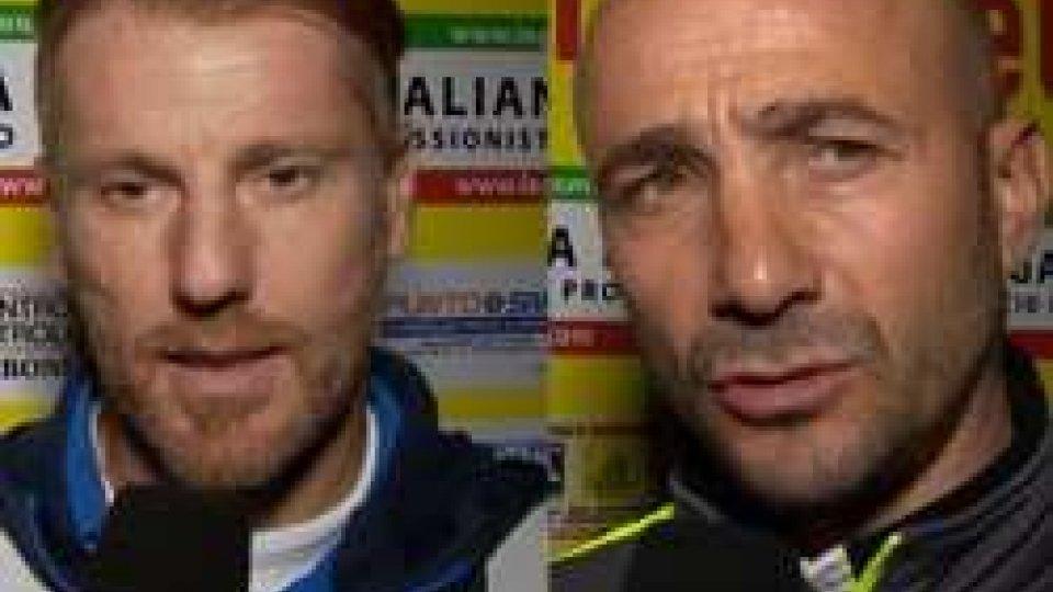 Michele Marcolini e Oscar BreviSantarcangelo - Padova: le parole di Marcolini e Brevi