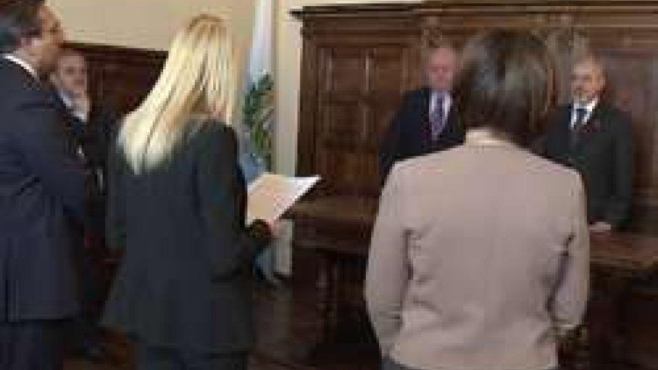 La Commissione per le Pari Opportunità ricevuta dalla Reggenza