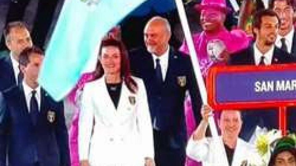 La delegazione sammarineseA Rio 2016 accoglienza super per la delegazione sammarinese