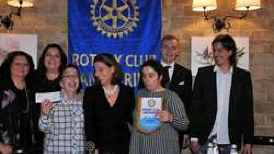 Consegna del ricavato della Lotteria di Solidarietà Rotariana