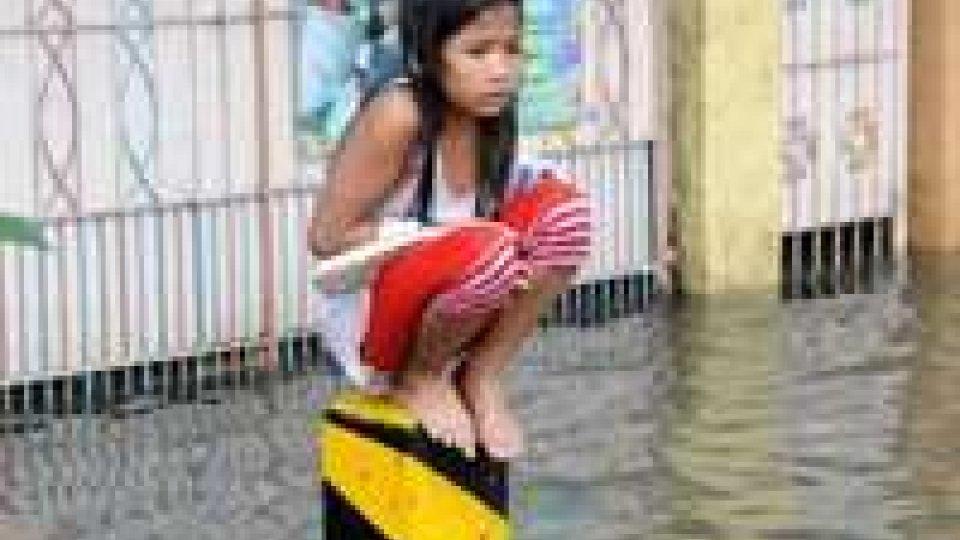 Filippine: 7 vittime delle piogge torrenziali.