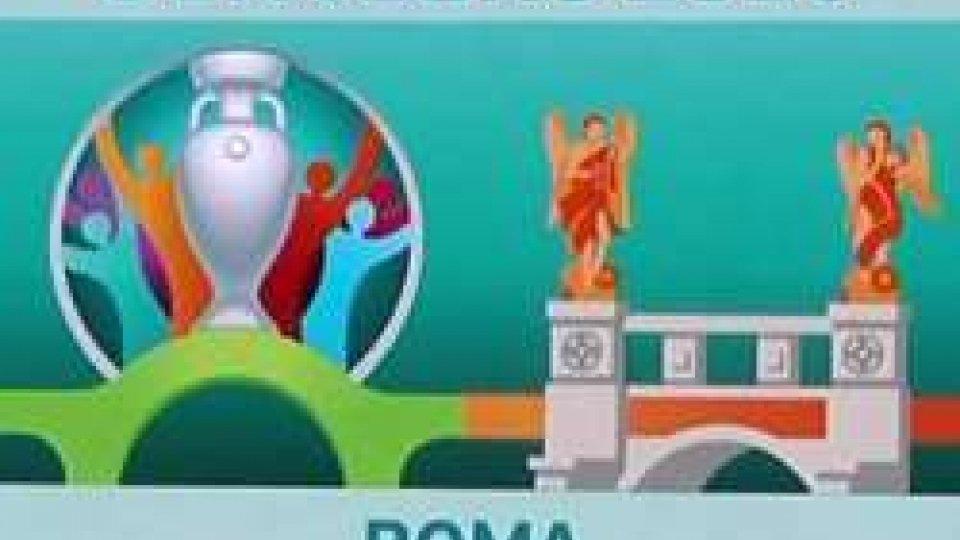 logo Euro 2020Euro 2020: a Roma quattro partite