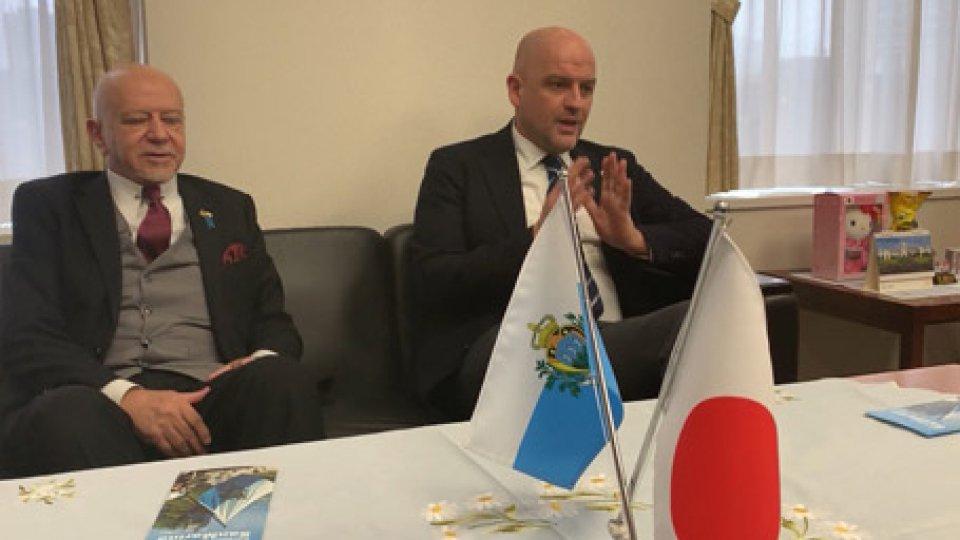 Marco PodeschiIl Segretario di Stato Podeschi in visita in Giappone a Tokyo e Kyoto