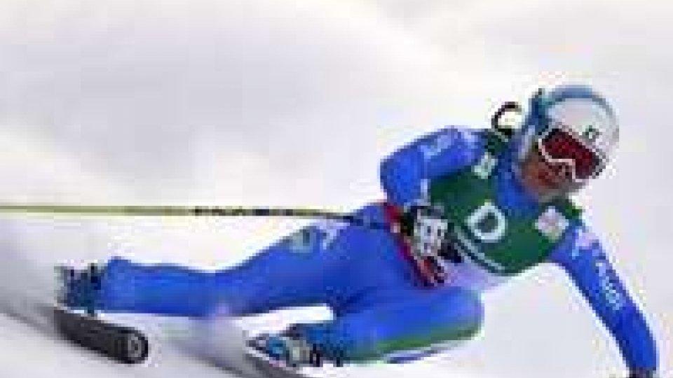 Mondiali sci: discesa libera, l'argento a Nadia Fanchini