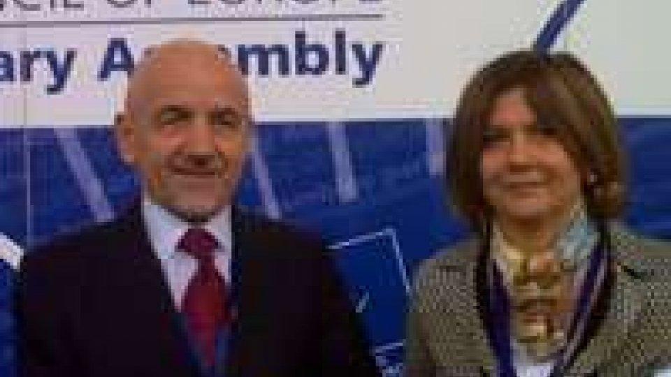 San Marino - A Strasburgo i membri della delegazione del Consiglio d'Europa