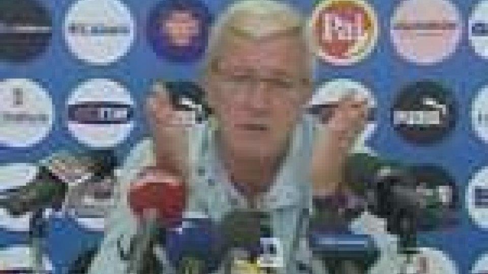 Nazionale italiana: la lista definitiva dei convocati per il Sud Africa