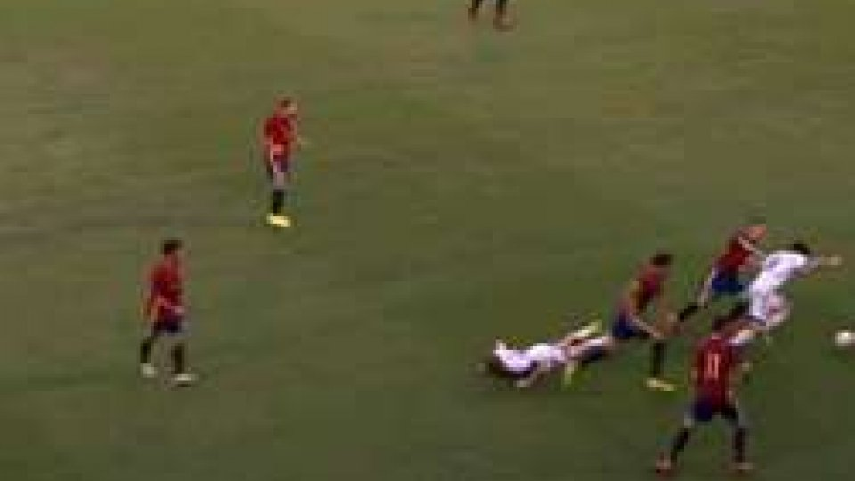 San Marino - Spagna 0-3