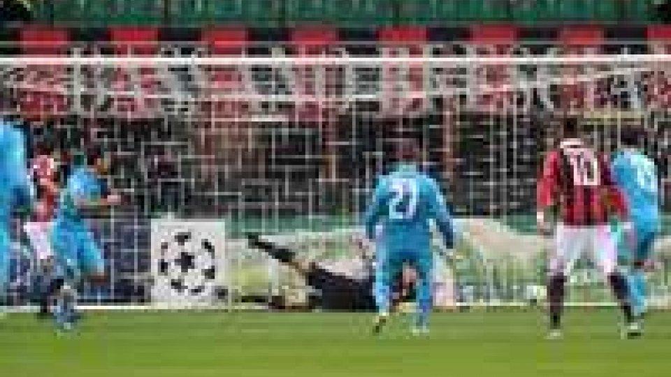 Champions League: il Milan sconfitto dallo Zenit